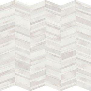 Chevron Wall Feature Tile